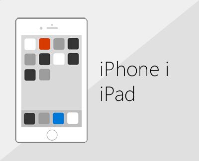 Kliknite da biste postavili Office i e-poštu na uređajima sa sustavom iOS