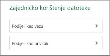 Zajedničko korištenje datoteke