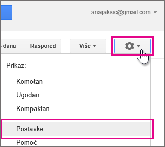 google calendar - settings - settings