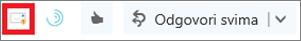 Ikona za poruku izvješća u programu Outlook na webu
