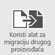 Migriranje poštanskih sandučića u Office 365 pomoću alata za migraciju drugih proizvođača
