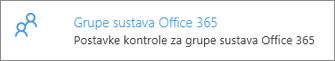 Grupe sustava Office 365