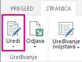 Uređivanje stranice