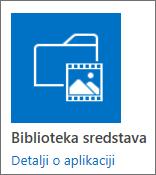 Pločica biblioteke resursa
