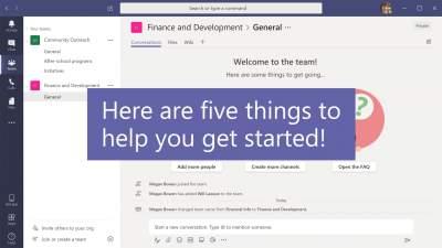 Pet stvari koje najprije morate napraviti s besplatnom verzijom aplikacije Teams