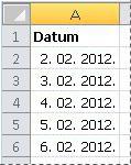 Pretvoreni datumi