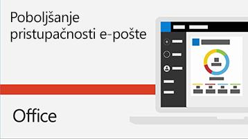 Videozapis o poboljšanju pristupačnosti e-pošte
