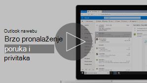 Minijatura slike pretraživanja videozapisa e-pošte