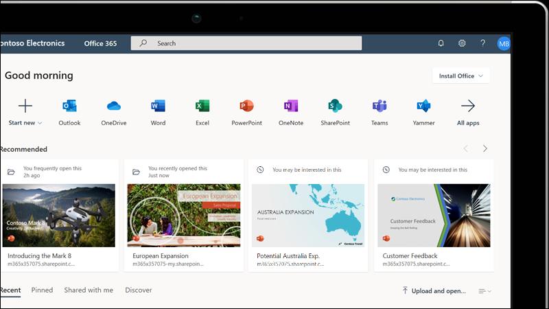 Obuka za program Office za web