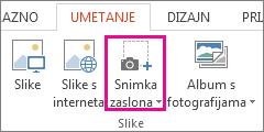 Grupa Ilustracije u programu PowerPoint