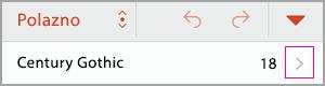 Idite na grupu fontovi