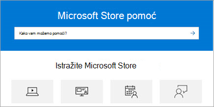 Istražite Microsoft Store pomoć