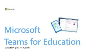 Slika uređaja s otvorenim Microsoftovim timovima