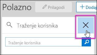 Snimka zaslona s uklanjanjem sigurnost i usklađenost Centriraj na miniaplikacije