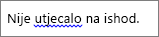 Moguća gramatička pogreška označena plavom valovitom crtom