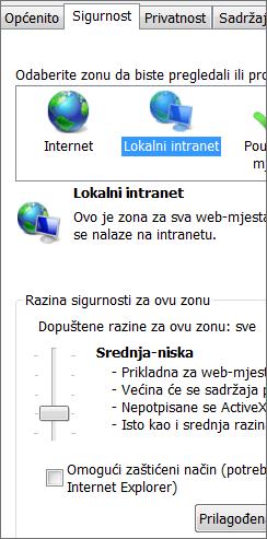 Lokalna intranetska zona