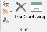 Arhiviranje jednim klikom