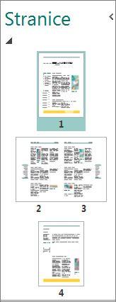 Okno navigacije po stranici u kojem se prikazuje samostalna stranica ili duplerica.