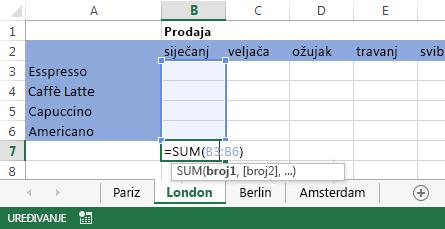 Formula se nalazi i na radnom listu London.