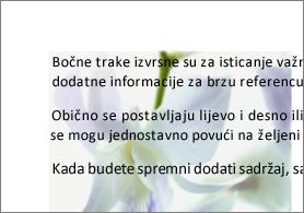 primjer slike iza teksta