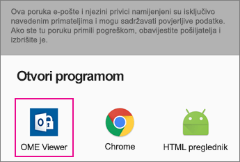 OME Viewer sa servisa Gmail na Android 2
