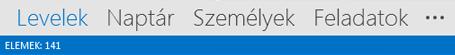 Outlook-elemek