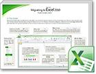 Áttérési útmutató az Excel 2010 alkalmazáshoz
