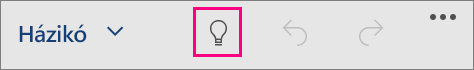 Megjeleníti a Mutasd meg ikont a Windows 10 Office Mobile-ban
