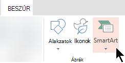 On the Insert tab, select SmartArt
