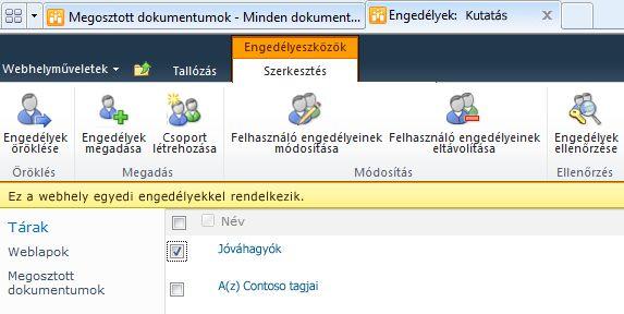 Felhasználói engedélyek eltávolítása
