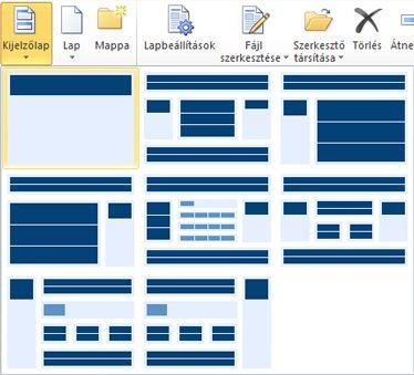 Lapok felvétele a SharePoint Designer 2010 alkalmazásba