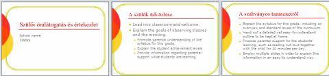 Sablon iskolai gondviselői interjúhoz