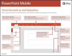 PowerPoint Mobile – rövid útmutató az első lépésekhez