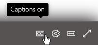 Videó lejátszása a Microsoft Stream vagy anélkül kódolt feliratok hozzáadása