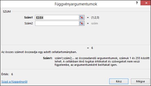 Az Excel függvényvarázslója