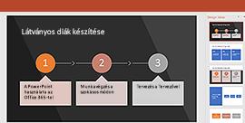 PowerPoint Tervező funkció