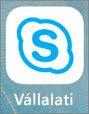 iOS Skype Vállalati verzió app ikonja