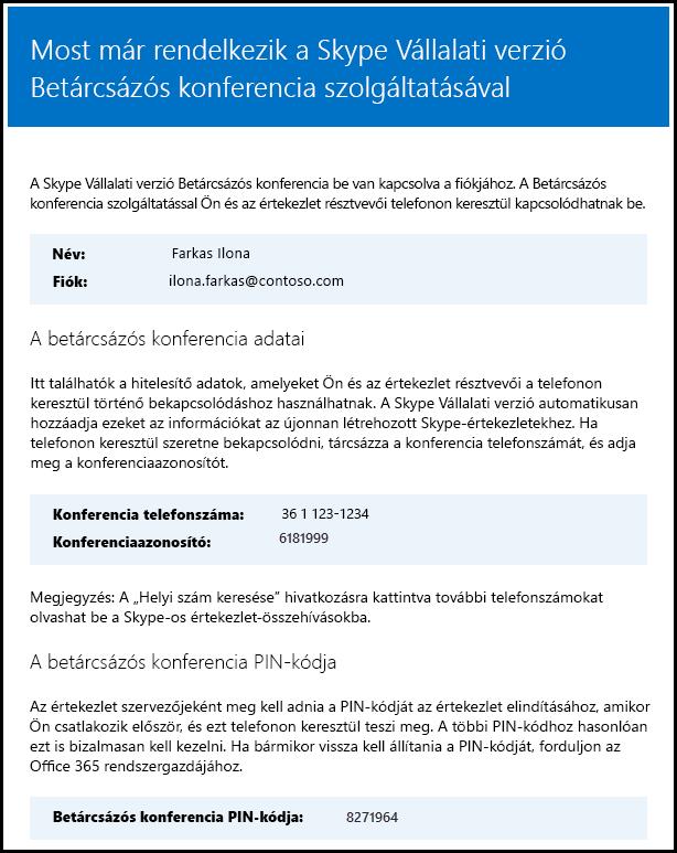A Skype Vállalati verzióhoz tartozó licenc érvényességének ellenőrzése