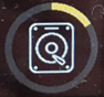 A meghajtó gyorsítótárának újraépítése ikon