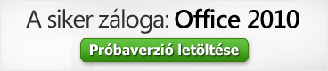 Az Office 2010 próbaverziója letöltése: Microsoft Corporation (c)