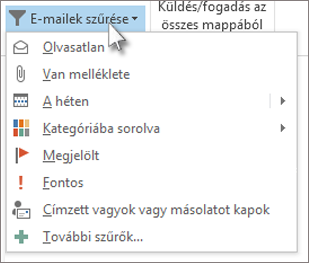 E-mailek szűrése