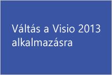 Váltás a Visio 2013 alkalmazásra