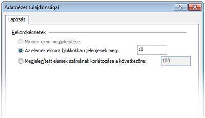 A SharePoint Designer 2010 alkalmazásban megnyitott webhely