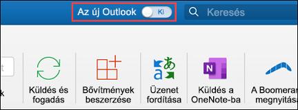 Az új Mac Outlook