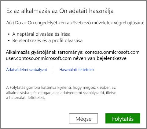 bejelentkezés az Office 365-be