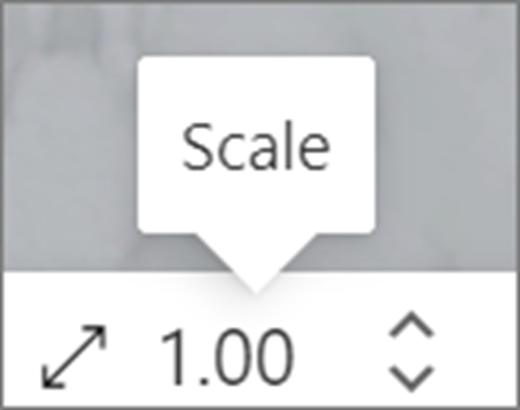 Méretarányos felhasználói felület
