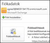 Új e-mail-fiók hozzáadása az Outlook 2010-ben
