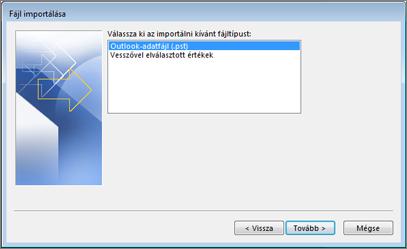 Exportálás adatfájlba