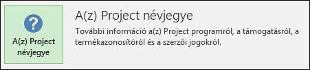 A Project névjegye