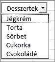 Kombinált lista